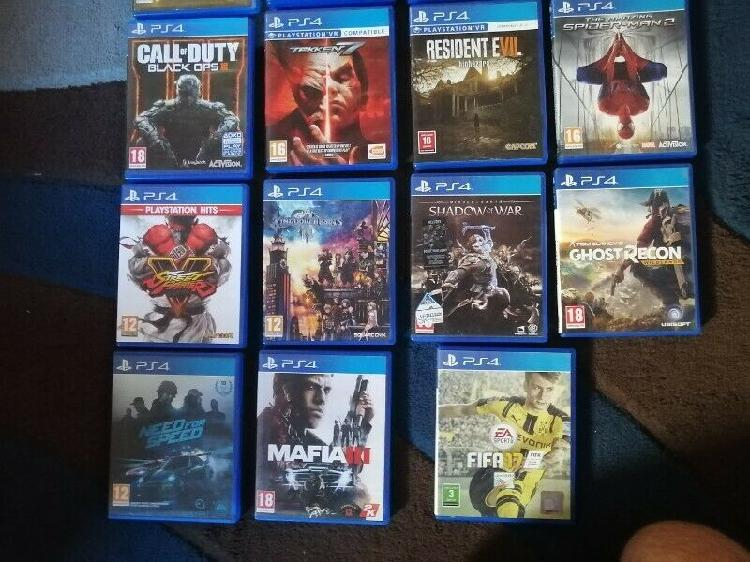 Ps4 games for sale in excellent condition!!