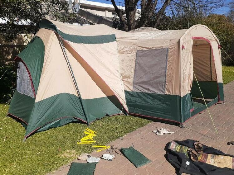 3 room campmaster caravaner cabin tent sleeps 8