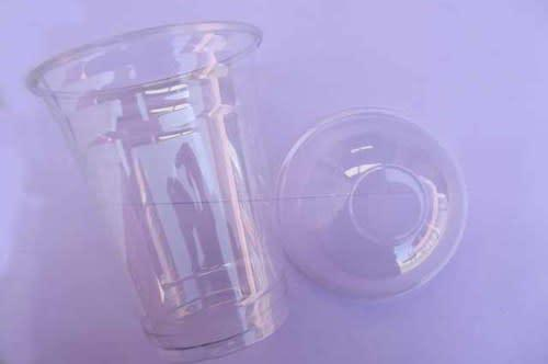 Container, acrylic, clear,140mm, 1pc (use for smoothies,