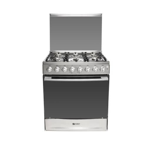 Zero appliances 6 burner stainless steel gas stove