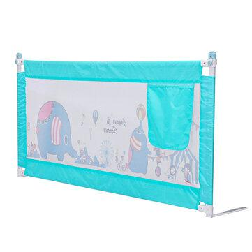 Adjustable bed rail guard toddler safety baby kids bedguard