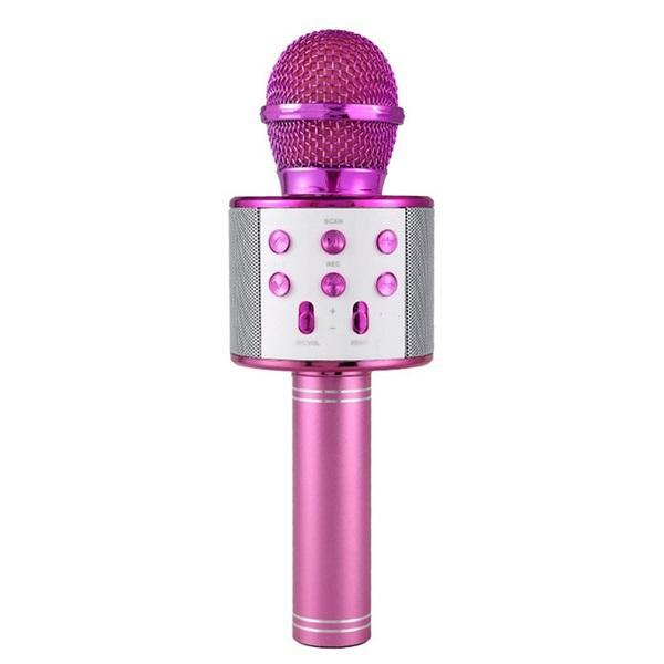 Wireless microphone - assorted colours - pink