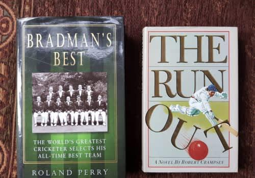 The bradmans best & the run out, first editions, set of two