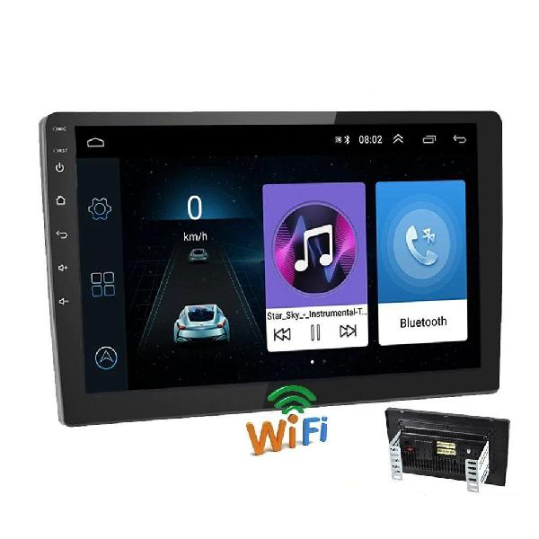 10 android car radio multimedia player with bluetooth