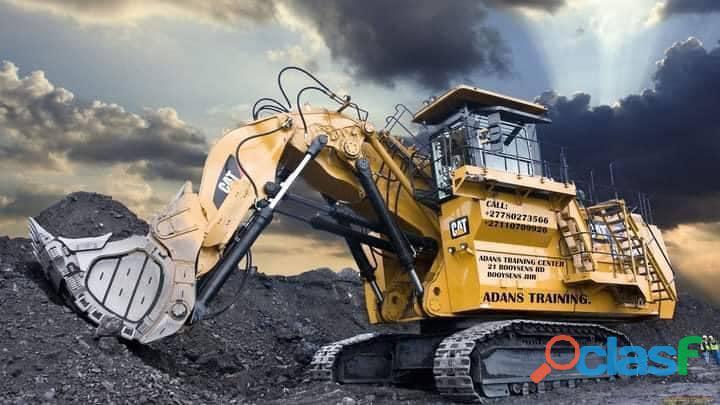 Excavator training courses in bushbuckridge +27769563077