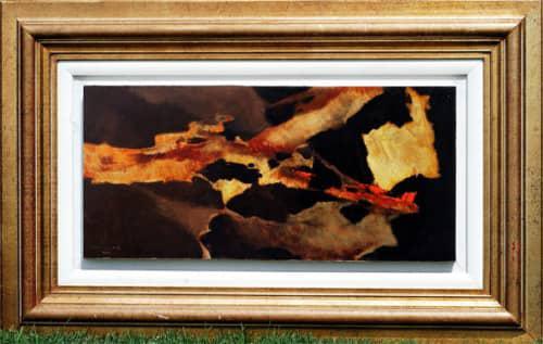 Otto klar oil-101 image size 33-70.5 cm framed