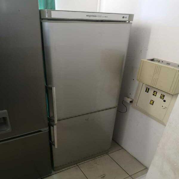 Silver lg fridge freezer