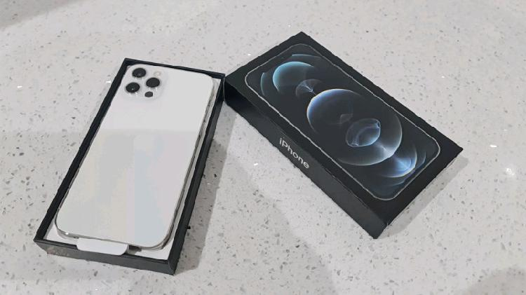 New Iphone 12 Pro With Box Silver 256 Gb For Sale