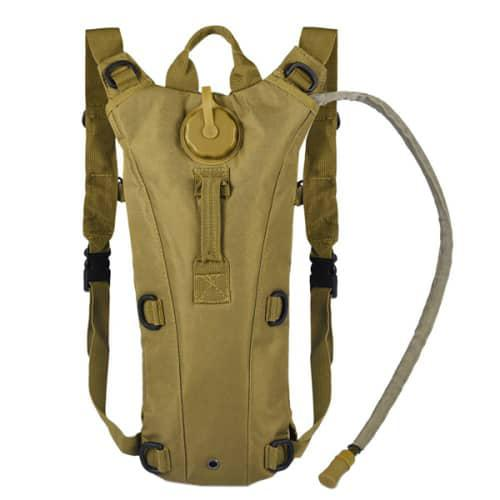 Local stock* hydration pack with 2.5l backpack water