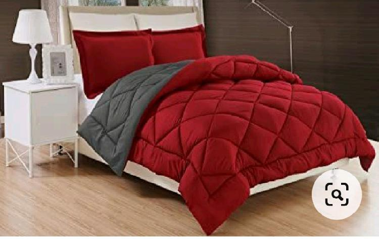 Comforters and pillows cases