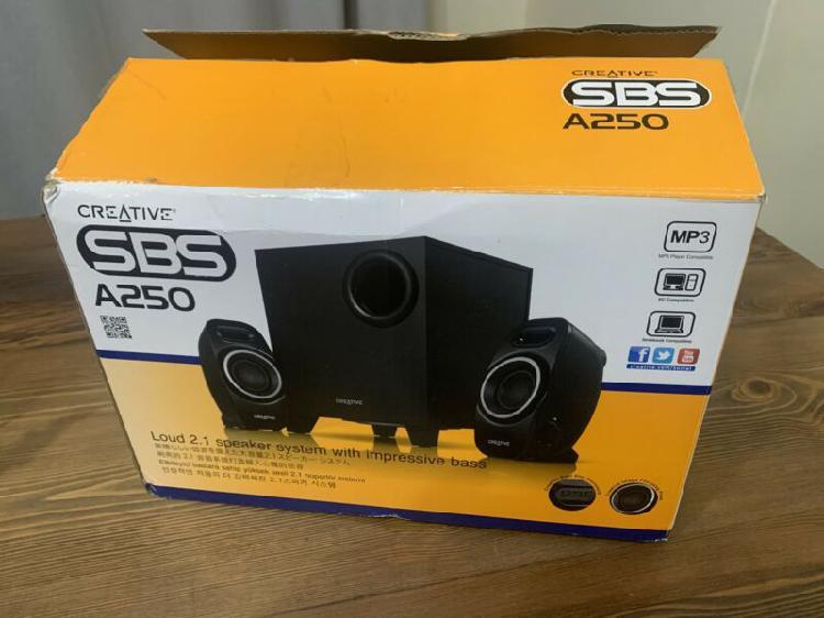 Creative A250 2.1 speakers