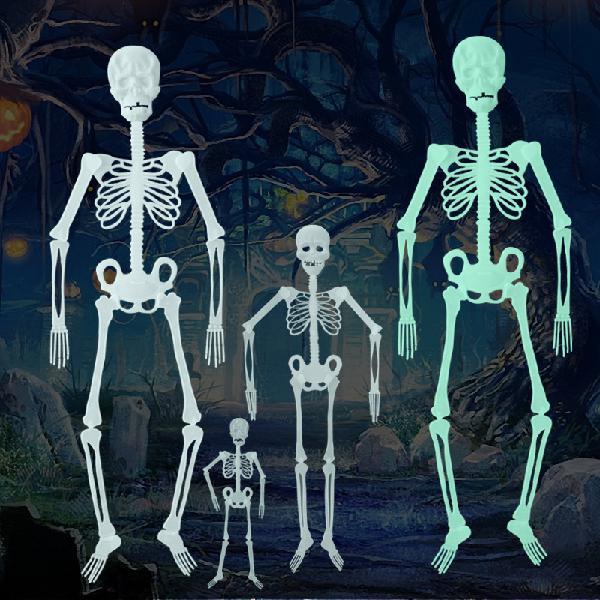 Halloween Luminous Skeleton Haunted House Horror Decorations