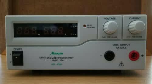 MANSON HCS-3302 BENCH POWER SUPPLY UNIT