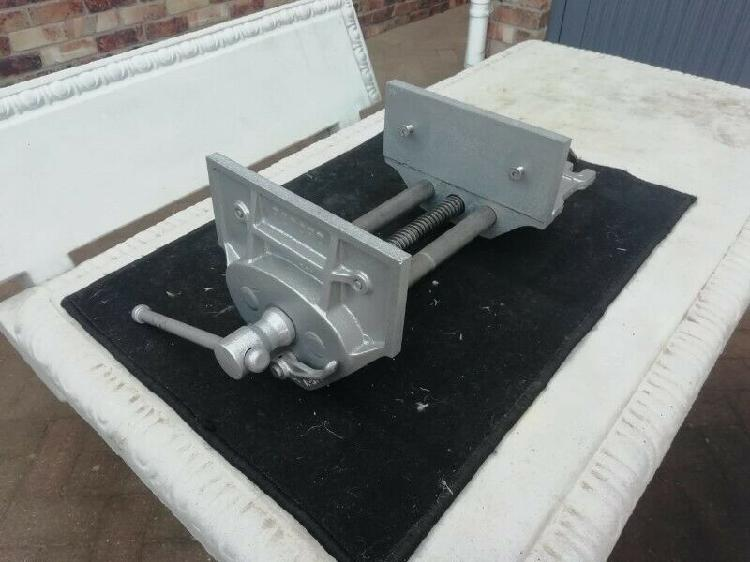Record 52ED / WV225 Extra Large Woodwork Bench Vice - 2