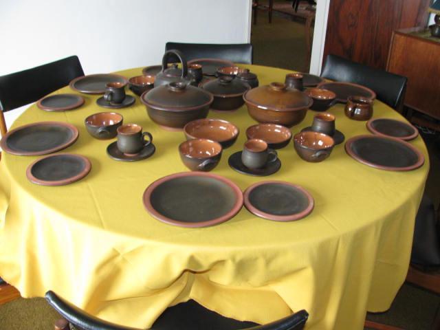 Twelve Seating Liebermann Dinnerware