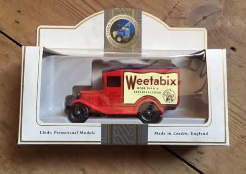Vintage Weetabix Promotional Advertising Van
