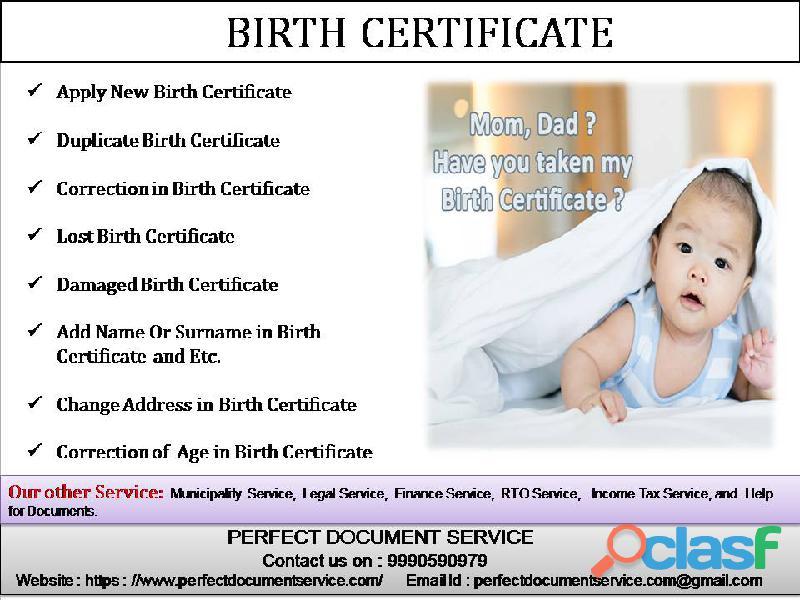 Renew | Apply Birth Certificate Online | Get   Lost Damaged