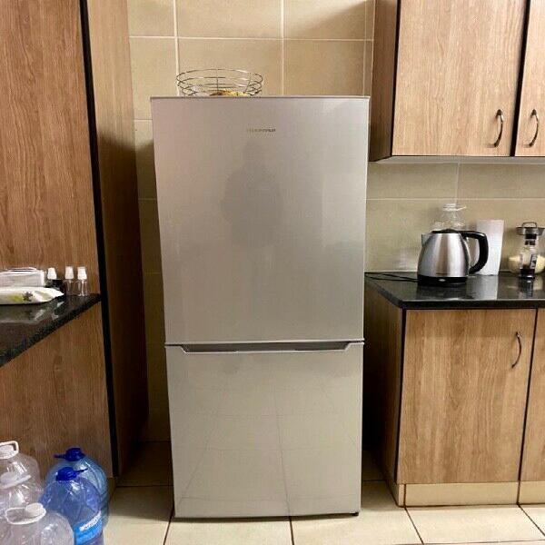 Fridge, washing machine and bed on sale
