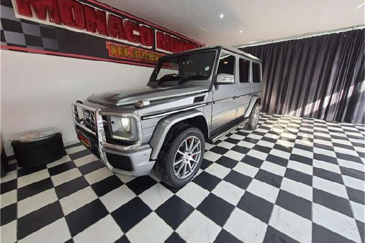 Used mercedes benz g class g63 amg (2017)