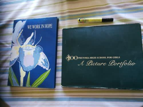 2 books 100 pretoria high school for girls plus we work in