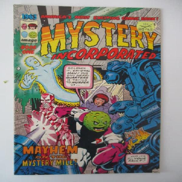 Image comics - mystery incorporated comic of 1963 now 1993