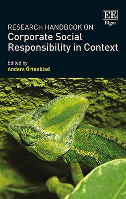 Research handbook on corporate social responsibility in