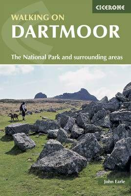 Walking on dartmoor - national park and surrounding areas