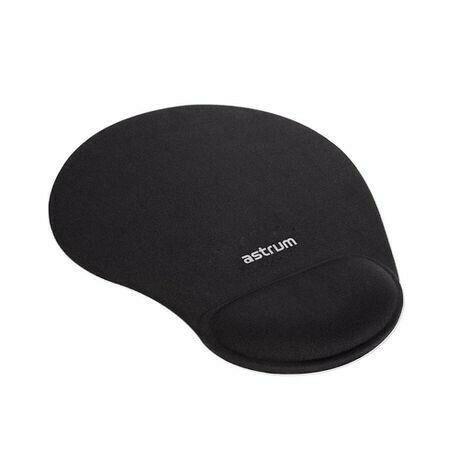 Mousepad silicon rubber black - r125
