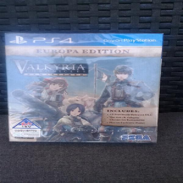 Ps4 game-valkyria chronicles remastered