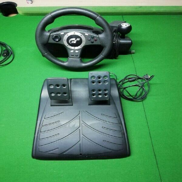 Pro force stearing wheel & pedals ps3