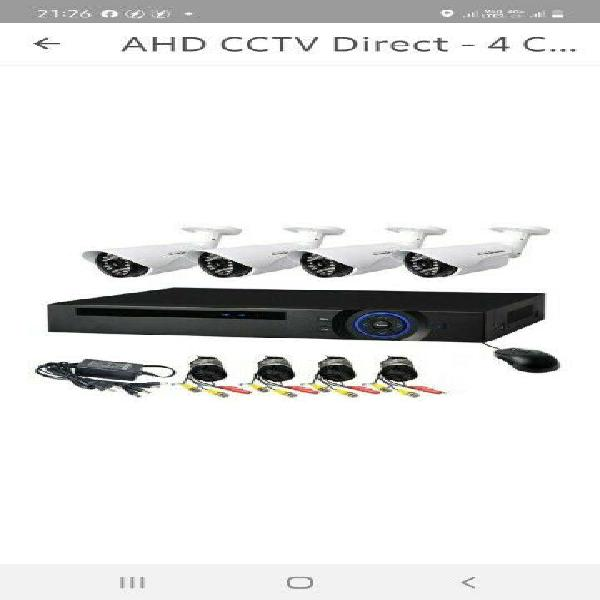 Cctv security camera supply and install