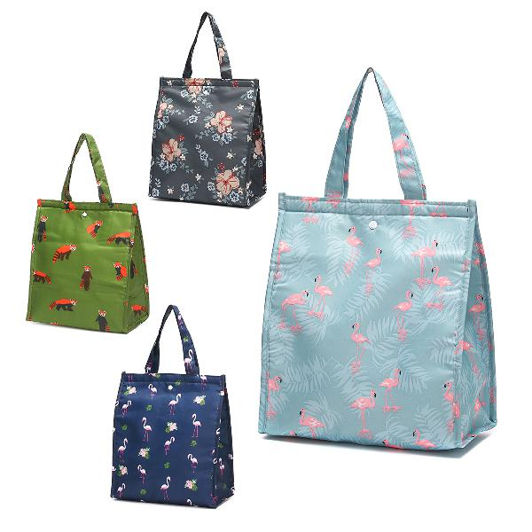 Portable insulated thermal cooler lunch bag waterproof