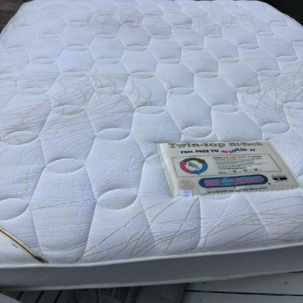 Double mattress only - rest assured heavy duty - no base -