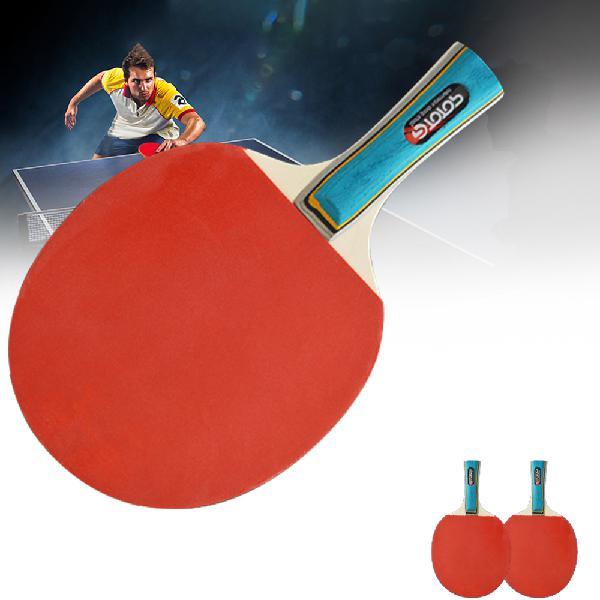 Type b)2 pcs table tennis racket long/short handle carbon