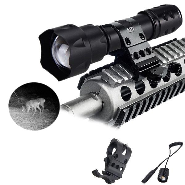 Vastfire 850nm zoomable led infrared radiation ir lamp night