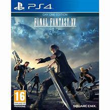 Final fantasy xv day one edition (ps4) - mint condition / re
