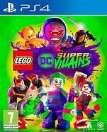 Lego dc super villians - (ps4) - mint condition / re -