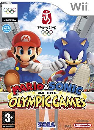 Mario & sonic at the beijing 2008 olympic games: wii
