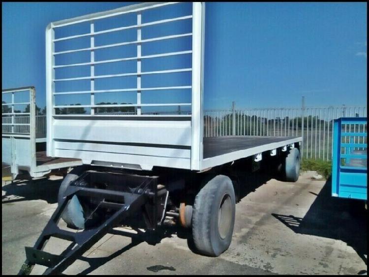 2021 ramkat flatdeck deawbar - 2 axle