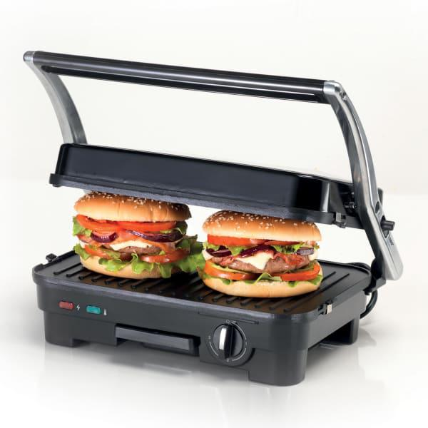 Kenwood 1800w double plate panini grill