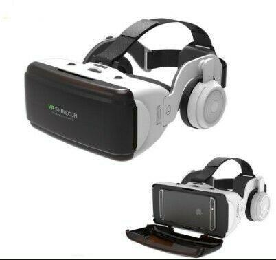 Vr shinecon g06b with detachable headphones