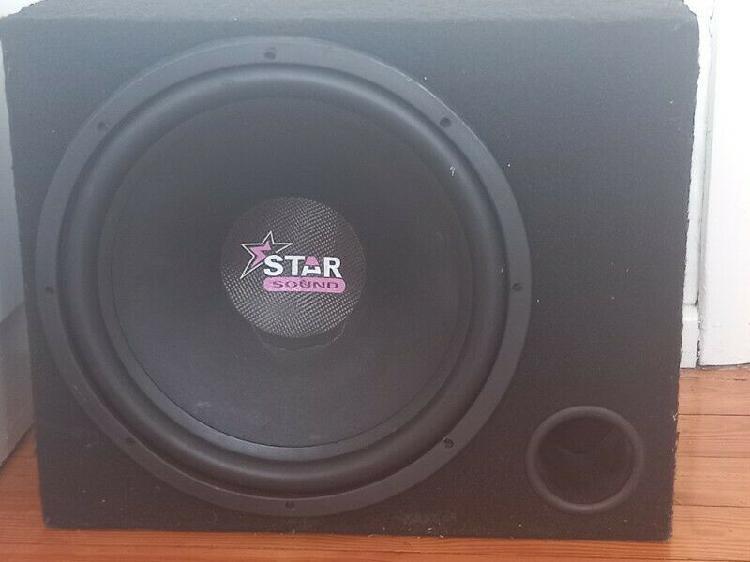 Starsound sub and amp