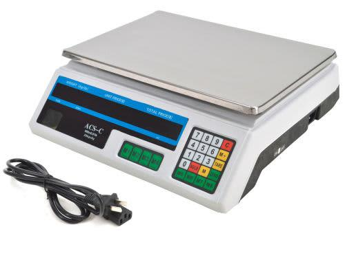 40kg electronic digital price computing scale- black face