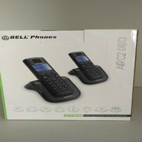 Cordless bell duo phone