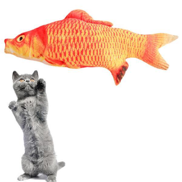 Color. 2)pet cat toys cat kitten cushion bite chew pillow