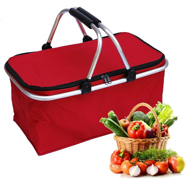 30l waterproof folding picnic lunch bag camping insulated
