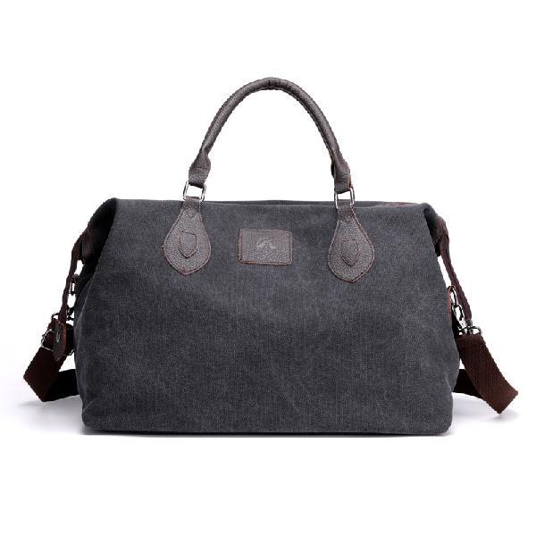 Kvky canvas travel bag outdoor men casual fashion handbag