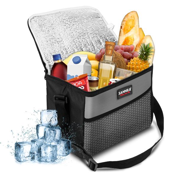 Sanne 10l insulated lunch bag oxford waterproof picnic bag