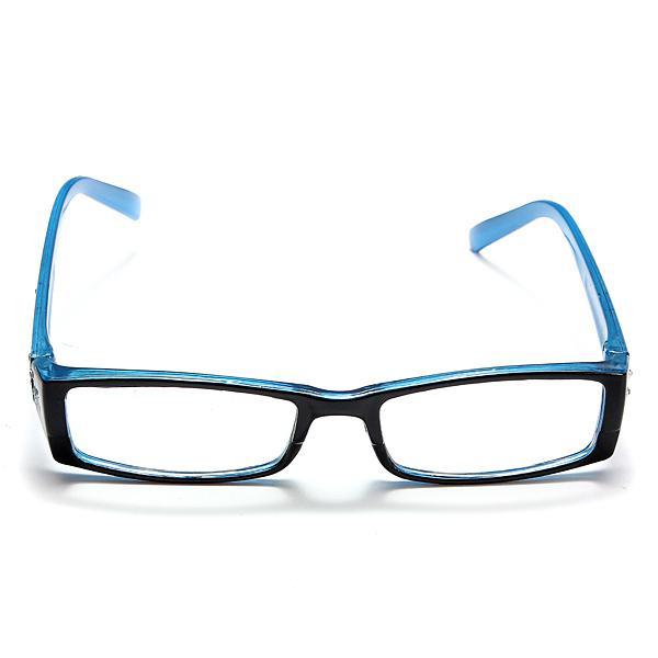 Magnification strength 1.5)blue female diamond flower frame