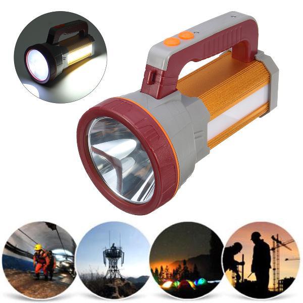3000lm usb rechargeble super bright led spotlight waterproof